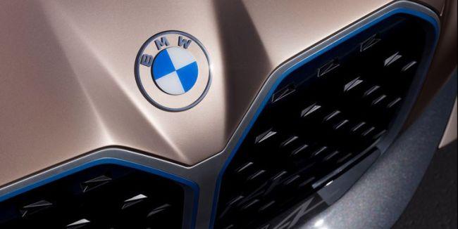 Logo de refonte BMW