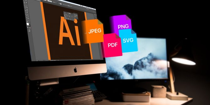 comment enregistrer des fichiers Adobe Illustrator