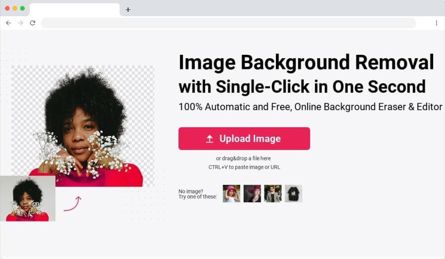 Découpe d'image: outil gratuit pour supprimer l'arrière-plan des images
