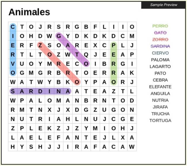 Créez des recherches de mots gratuites avec l'utilitaire Web Word Search Maker