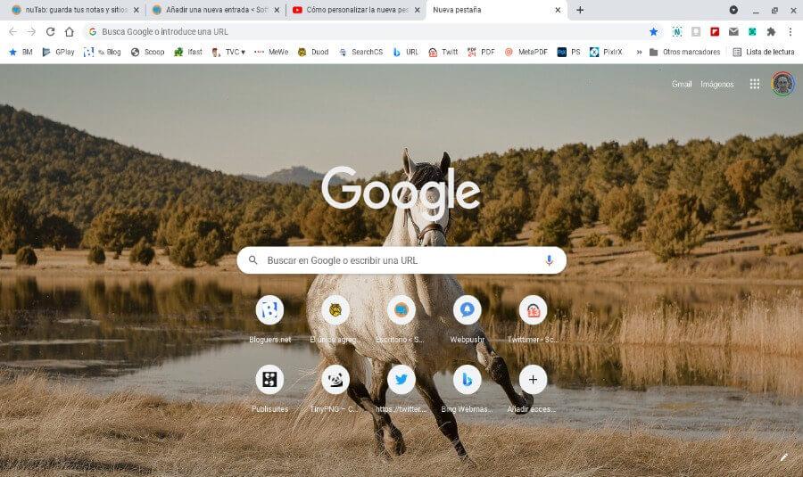 Comment personnaliser le nouvel onglet de Chrome en utilisant vos propres images