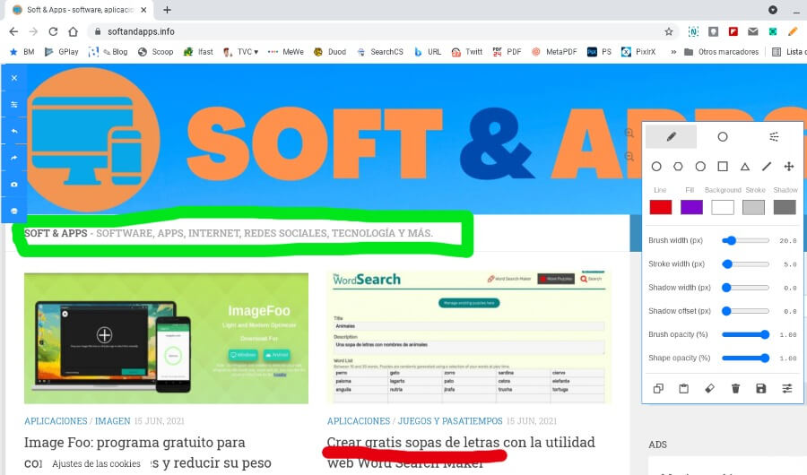 Draw on Page : dessinez sur des pages avec cette extension pour Chrome