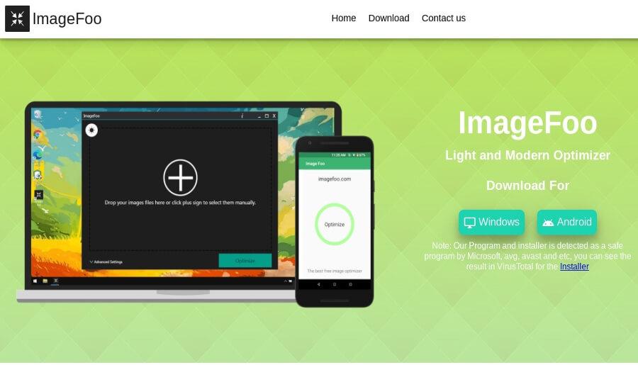 Image Foo : programme gratuit pour compresser des images et réduire leur poids