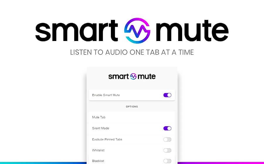 Smart Mute: extension Chrome qui vous aide à désactiver les onglets