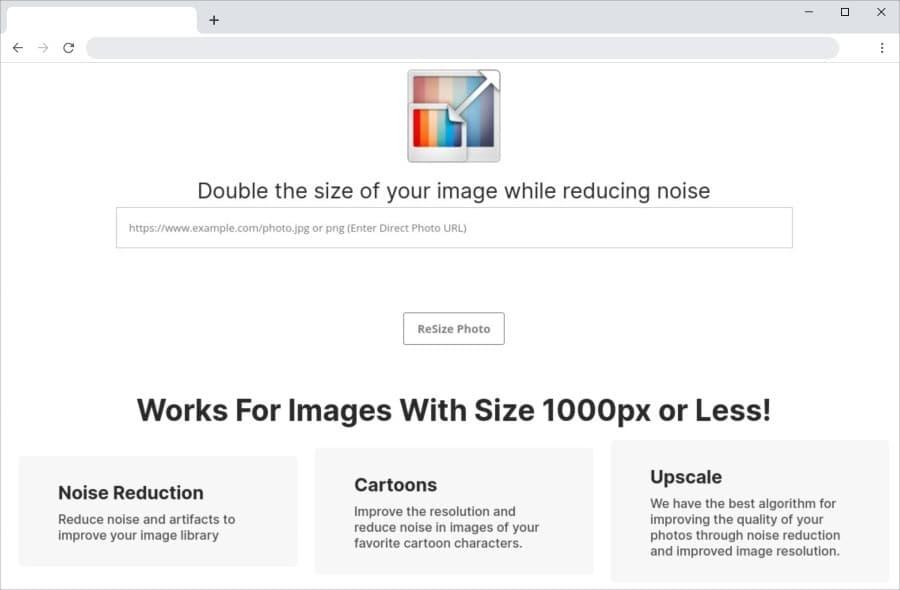 Doubler les dimensions des images tout en conservant leur qualité